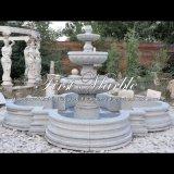 Fontaine grise de granit pour les meubles Mf-1239 de jardin
