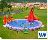 2018子供のための最も普及した巨大で膨脹可能な水公園