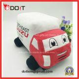 O logotipo personalizado Promoção Ceder Dom Soft Carro recheadas de pelúcia brinquedo para a empresa de viaturas