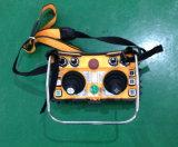 Unidad de control remoto en la palanca de control remoto inalámbrico Industrial Controller F24-60 para grúa de servicio pesado
