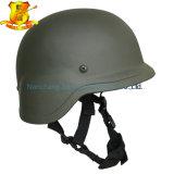 Hoher Grad-Militärpolizei patrouillieren Pasgt M88 Kevlar kugelsichere Sturzhelm-Außendurchmesser-Farbe