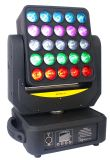 Farbenreiches 25X12W RGBW/4in1 CREE LED bewegliches Hauptmatrix-Licht