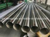 Matériaux de construction en acier inoxydable 304 Décoration tuyau rond de tuyaux en acier soudé