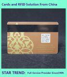 De Plastic Kaart van Kleurendruk vier met Magnetische Streep voor Automaat