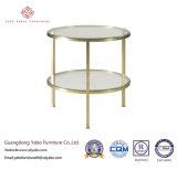 Großzügige Hotel-Möbel für Wohnzimmer-seitlichen Glastisch (7881)