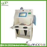 Máquina de jacto de mesa giratória Box-Type seco