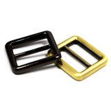 A curvatura quente do slider da barra do centro da liga do zinco do metal da venda para o saco parte os acessórios dos bens do couro de sapatas da curvatura de correia (YK861)