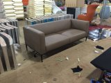 Sofá moderno do escritório com mobília do hotel da cadeira de couro do plutônio/sofá do bar