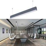Luz linear ajustable del enlace del CCT LED con arriba y abajo de la luz pilota doble