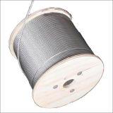 Tianli 7X19 4mm en acier inoxydable 304 316 Wire Rope