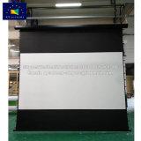 Schermi di x-y schermo di proiezione motorizzato grande tensionamento della tabulazione di 16:9 di 200 pollici con goccia nera su ordinazione
