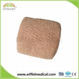 Bandage cohésif élastique auto-adhésif imperméable à l'eau de conformité de la protection de garantie Ce/FDA