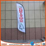 Battant pavillon de la bannière durable en extérieur avec socle