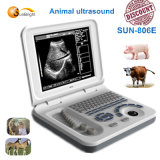 Equipamento de Ultra-sonografia veterinária/scanner de ultra-som portátil/Ultra-sonografia veterinária