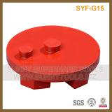 Concrete Grinder를 위한 3 인치 10 Segment Floor Magnetic Diamond Grinding Polishing Disc