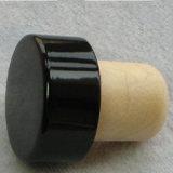 Синтетический затвор пробочки стеклянной бутылки для оптовой продажи упаковки вина