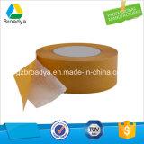 Nastro parteggiato adesivo del tessuto del solvente bianco della fodera 0.9mm doppio (DTS10G-09)