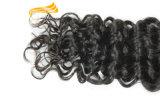 Aucune trame de rejet de cheveux humains de Vierge de Remy d'Indien de 100%