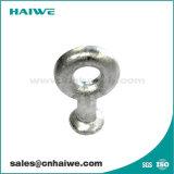 Galvanizado en caliente de la bola de acero en los ojos el grillete de la línea de montaje de hardware
