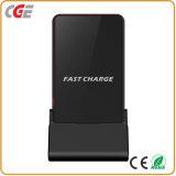 La norme sans fil de Qi de chargeur de téléphone mobile pour l'iPhone X de Samsung chargent vite la vente chaude de chargeur de belle de vente de téléphone mobile charge rapide chaude sans fil de chargeur