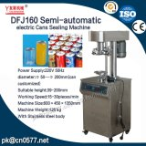 食糧のための機械を密封するDfj160半自動電気缶