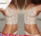 Conjunto atractivo de la ropa interior de la venta del cordón de las mujeres adolescentes transparentes calientes calientes de la ropa interior