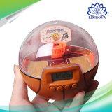 La deuxième génération du bout du doigt électronique ordinateur de poche Palm Shoot Jeu de basket-ball des jouets avec LED et de la musique