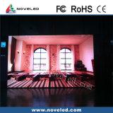 Innenmiete P6 LED-Bildschirm des druckgießenden Aluminiumschrankes