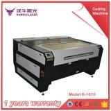 mini máquina de grabado de la tela del laser 80W