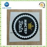 Paket-Drucken-Drucker-Papier-Kennsatz gedruckter Abziehbild-anhaftender Firmenzeichen-Aufkleber (jp-s193)