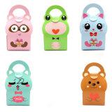 Baby Shower cajas y bolsas de caramelos de diseño de animales Chico Chica caja para regalo de cumpleaños de niños de Papel Caja de caramelos de tratar de verificación