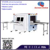 고품질 공항 화물 안전 엑스레이 스캐너, 짐 공항 컨베이어, 엑스레이 짐 검사 스캐너 At6550d