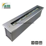 6W exterior IP65 Escalera empotrada LED de luz de pared