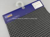 Il filo di cotone ha tinto l'assegno Fabric-Lz8734 del filato del Melange del jacquard