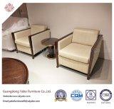 فندق بسيطة يعيش غرفة أثاث لازم مع كرسي ذو ذراعين خشبيّة ([يب-د-7])