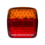 12V/24V E-MARK 트럭 트레일러 트랙터를 위한 보편적인 LED 차 후방 조합 테일 빛