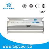 Ventilador de refrigeração da vaca de leiteria Vhv55 com defletor do ar