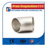 管付属品ASME B 16.9の標準ステンレス鋼45度の肘
