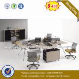 Kantoormeubilair 4 van het personeel De Verdeling van het Bureau van het Werkstation van Zetels (NS-D056)