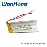 3.7V 700mAh 702050 리튬 재충전 전지