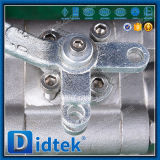 Didtek precio competitivo con asientos blandos A105 extremos roscados de la válvula de bola flotante