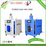 Fácil funcionamiento maquinaria calefacción alguna botella de espesor CBD/Líquido de la máquina de llenado de aceite de cáñamo