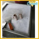 Fischrogen-Rolleneiscreme-Maschine gebratene Eiscreme-Hersteller-Wannen-Eiscreme-Maschine