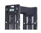 La pantalla táctil del LCD IP55 impermeabiliza la caminata a través del detector de metales portable de la arcada del detector de metales para el control de seguridad de la batería