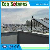 Sistema del collettore solare della lamina piana del fornitore dell'oro, collettore solare di riscaldamento