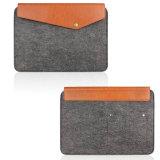 高品質のフェルトのiPad袋の低価格の卸売のフェルト袋