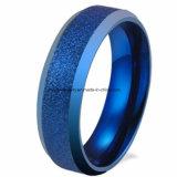 Ring Van uitstekende kwaliteit van het Wolfram Lasa van de Juwelen van Shineme de Blauwe (TSTBL09)