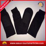 Fluglinien-Wegwerfsocken-Lieferanten-sehr preiswerte Socken-Wegwerf-Polyester-Socken