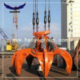 Port utiliser quatre ROPE GRAB Orange hydraulique