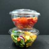 Wegwerfplastiksalat-Filterglocke-Nahrungsmittelbehälter
